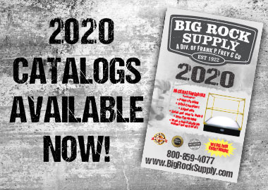 Big Rock Supply Catalogs